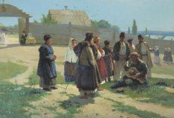 The Song   Vasily Navozov   Oil Painting