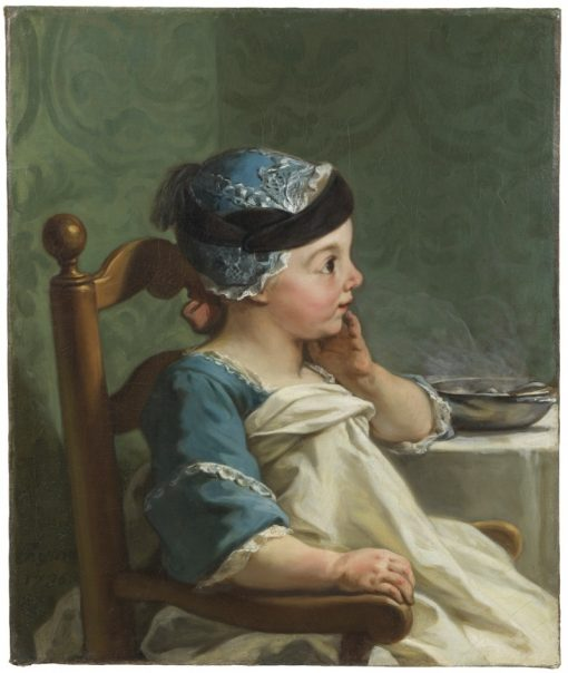 Boy in a Childs Chair | Jean Restout | Oil Painting