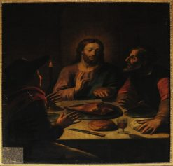 Dinner in Emmaus | Jean Restout | Oil Painting