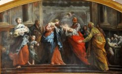 The Presentation of Christ in the Temple | Jean Restout | Oil Painting