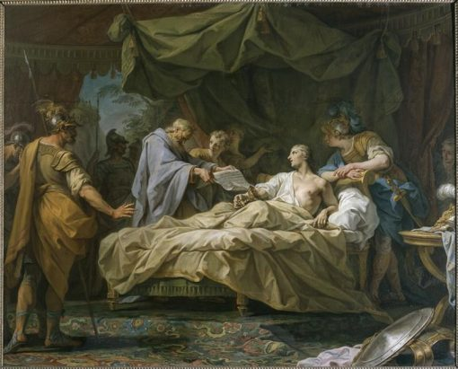 Alexander and His Doctor Philippe | Jean Restout | Oil Painting
