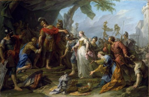 The Magnanimity of Scipio | Jean Restout | Oil Painting
