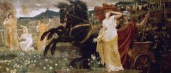 The Rape of Persephone | Walter Crane | Oil Painting