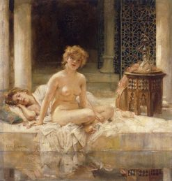 After the Bath | Leon-Francois Comerre | Oil Painting