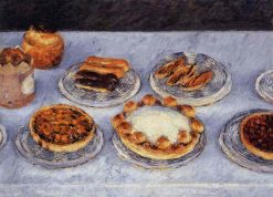 Cakes | Gustave Caillebotte | Oil Painting