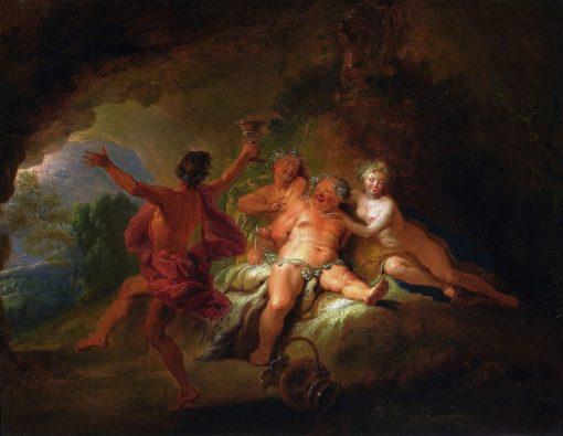 Bacchanalia | Nicolas Bertin | Oil Painting