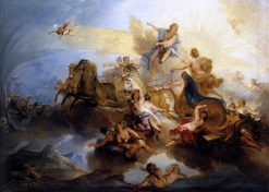 Phaeton on the Chariot of Apollo | Nicolas Bertin | Oil Painting