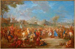The Triumph of David | Nicolas Bertin | Oil Painting