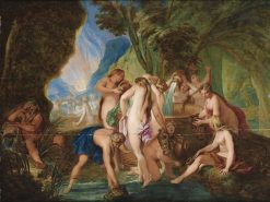 The Danaides in Hell   Nicolas Bertin   Oil Painting
