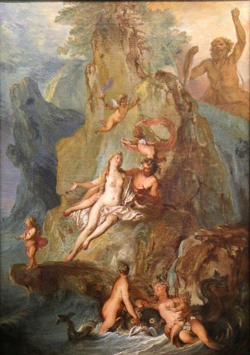 Acis and Galatea   Nicolas Bertin   Oil Painting