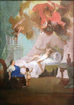 Jupiter and Danaë   Nicolas Bertin   Oil Painting
