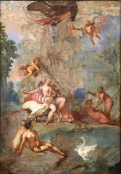 Jupiter and Leda | Nicolas Bertin | Oil Painting