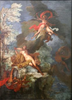 Psyche Abandoned by Cupid   Nicolas Bertin   Oil Painting