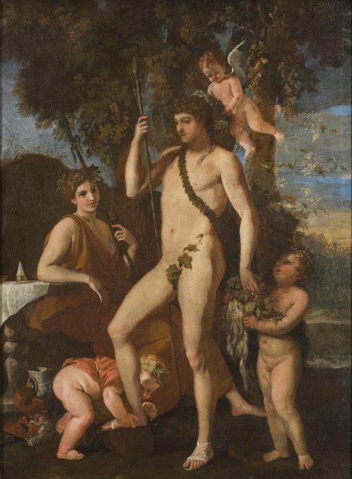 Bacchus and Apollo   Nicolas Poussin   Oil Painting