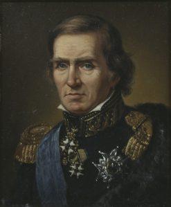 Baltzar Bogislaus von Platen | Johan Gustaf Sandberg | Oil Painting