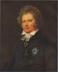 Poet Esaias Tegner   Johan Gustaf Sandberg   Oil Painting