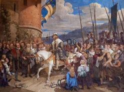 Entry of Gustav Vasa in Stockholm
