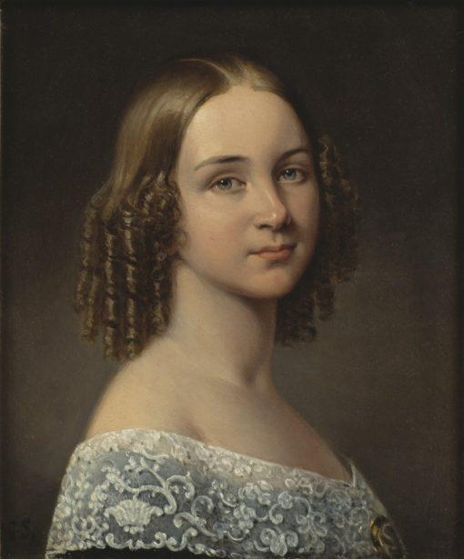 Jenny Lind | Johan Gustaf Sandberg | Oil Painting