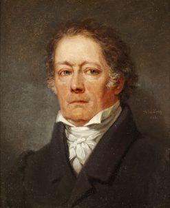 Fredrik Bogislaus von Schwerin   Johan Gustaf Sandberg   Oil Painting