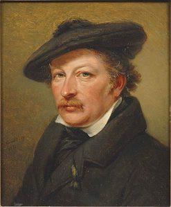 Portrait of Olov Johan Södermark   Johan Gustaf Sandberg   Oil Painting