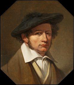 Self Portrait   Johan Gustaf Sandberg   Oil Painting