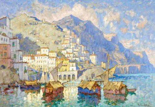 Amalfi | Konstantin Gorbatov | Oil Painting