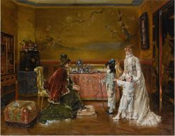 Ready for the Fancy Dress Ball | Alfred Emile Leopold Stevens | Oil Painting