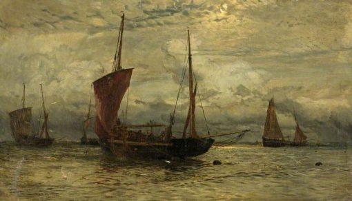 Ave Maria   William Lionel Wyllie   Oil Painting