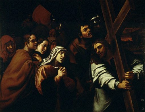 Christ Meeting His Mother on the Way to Calvary | Francisco Ribalta | Oil Painting