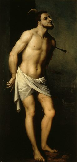 St. Sebastian | Francisco Ribalta | Oil Painting
