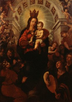 Virgin of Portacoeli | Francisco Ribalta | Oil Painting