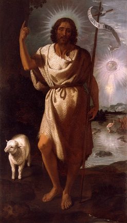 St. John the Baptist | Francisco Ribalta | Oil Painting