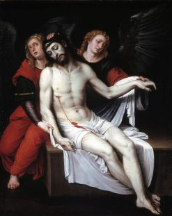 Dead Christ Held by Two Angels | Francisco Ribalta | Oil Painting