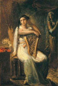 Desdemona   Theodore Chasseriau   Oil Painting