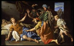 The Death of Brutus | Matthias Stomer | Oil Painting