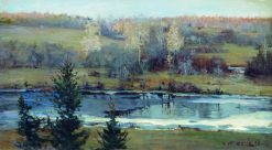 Autumn | Vasily Meshkov | Oil Painting