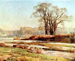 Landscape | Alberto Valenzuela Llanos | Oil Painting