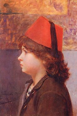 Portrait of a Boy | Alfredo Valenzuela Puelma | Oil Painting