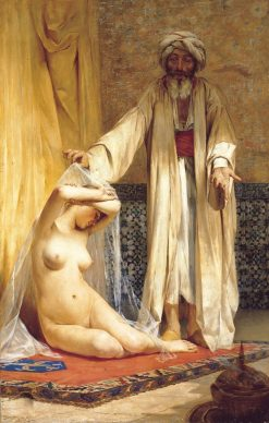 The Merchants Pearl | Alfredo Valenzuela Puelma | Oil Painting
