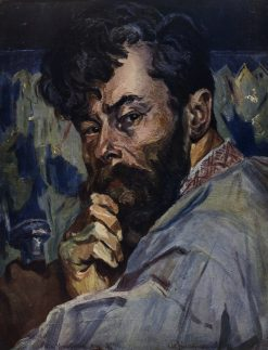 Self Portrait | Oleksa Novakovsky | Oil Painting