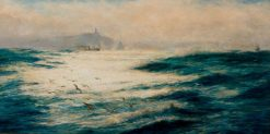 Off Cape St Vincent | William Lionel Wyllie | Oil Painting