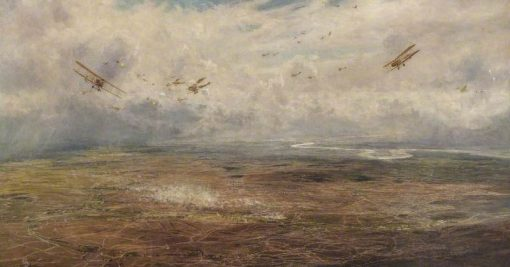 Panorama of the Western Front | William Lionel Wyllie | Oil Painting
