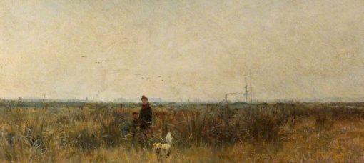 Romney Marsh | William Lionel Wyllie | Oil Painting