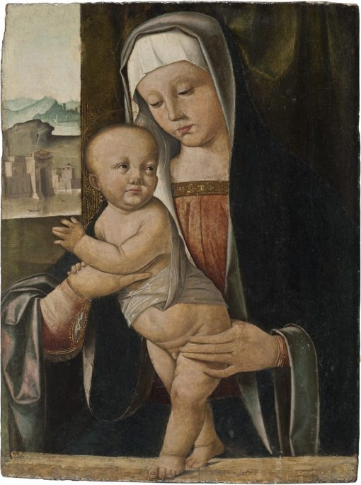 Madonna and Child   Marco Basaiti   Oil Painting