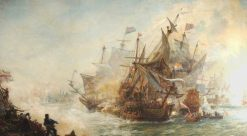 The Battle of North Foreland