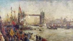 The Opening of Tower Bridge