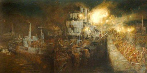 The Storming of Zeebrugge Mole
