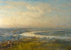 View from Greenwich Park | William Lionel Wyllie | Oil Painting