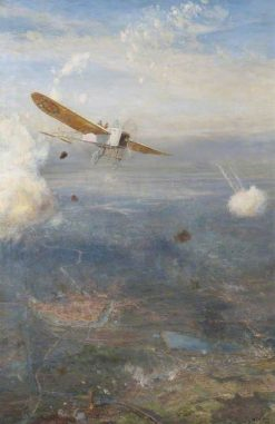 Ypres to the Sea | William Lionel Wyllie | Oil Painting