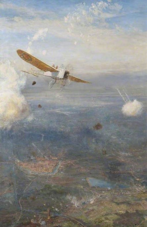 Ypres to the Sea   William Lionel Wyllie   Oil Painting